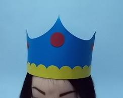 Coroa Pr�ncipe Branca de Neve