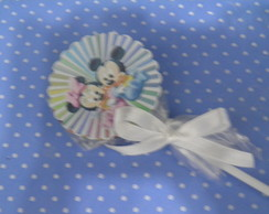 pirulito da minie e do mickey baby