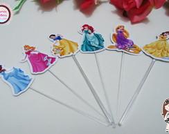 Topper para doces Tema Princesas