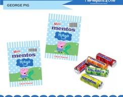 Adesivos Mini mentos George Pig