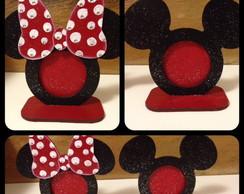 Porta Retrato Minie e Mickey
