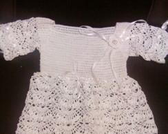 Vestido de beb� em croch�