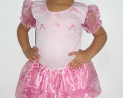 Fantasia Princesa Rosa Beb�