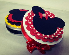 Latinha personalizada Mickey Minnie