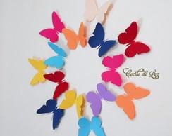 Kit borboletas gigantes 2
