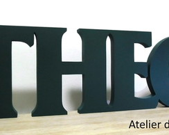 Nome Decorativo - Theo