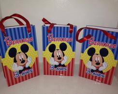 Sacolinha Personalizada Mickey