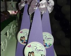 Cone personalizado para doces violetta