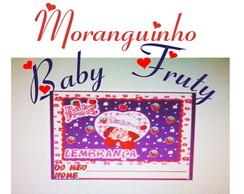 �m� geladeira 5x4 Moranguinho Baby Fruty
