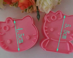 Kit Molde HELLO KITTY biscoito / biscuit