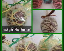 ma�a do amor banhada com chocolate