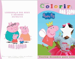 Revista Colorir - Peppa Pig