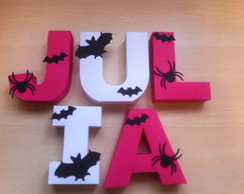 LETRAS 3D - MONSTER HIGH