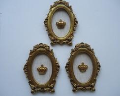 trio ouro velho com coroa