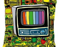 Almofada TV Retr� 28X28