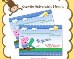 Convite George Pig