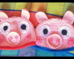 Touca Peppa Pig e George Pig