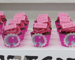 Wrapper (sainha) para mini cupcake