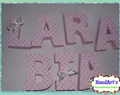 Letras decorativas 3D-Princesas