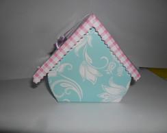 Casinha de p�ssaro de papel
