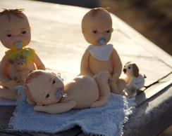 Topos de Bolos - Ch� de beb�