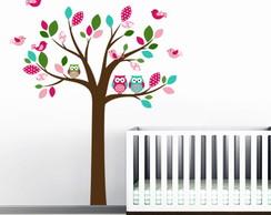 Adesivo de Parede Infantil �rvore