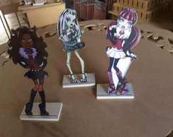 TOTEM DE MESA MONSTER HIGH EM MDF