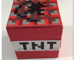 Caixinha Dado - TNT Minecraft