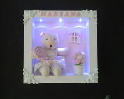 Porta Maternidade ursa com Led