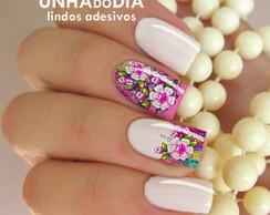 Adesivo de Unha - Flor DI745
