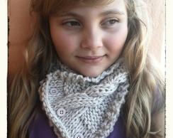 Gola de trico Rafaela