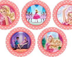 barbie 15 adesivos