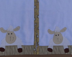 Toalha de banho beb� ovelhinha