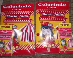 Kit colorir circo- Fazemos outros temas