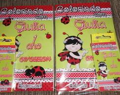 Kit colorir Joaninha