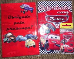 Kit colorir carros