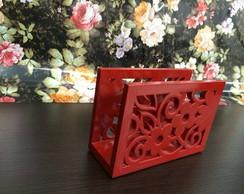 Porta Guardanapo Floral