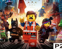 Painel The Lego Movie - Festa Infantil