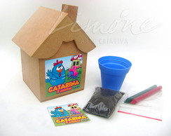 Mini Kit Cultivo Casinha