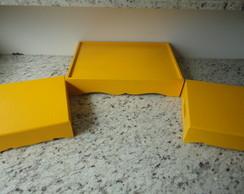 Kit Bandejas Amarelas