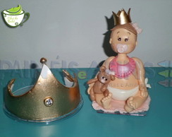 Topo de Bolo Pequena Majestade (Coroa)