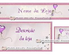 Kit Loja Virtual (Boneca lil�s)