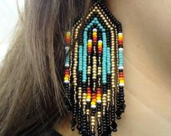 Maxi Brinco Franja Native American