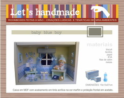 Roombox Baby Boy Blue