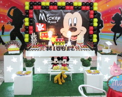 Decora��o Clean Mickey Mouse de Lona