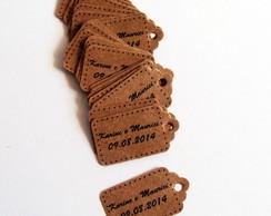 Mini Tag Kraft Personalizada