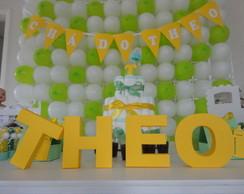 Loca��o - Ch� verde e amarelo