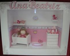 Porta Maternidade Princesa iluminado