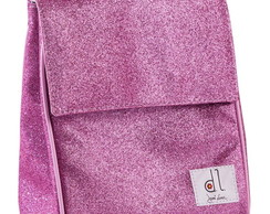 Lunch Box Glitter Rosa
