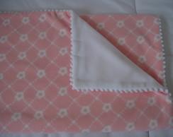 (MTA 0012) Manta micro soft floral rosa
